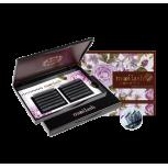 Mooilash Camellia / D CURL / BLACK + PURPLE